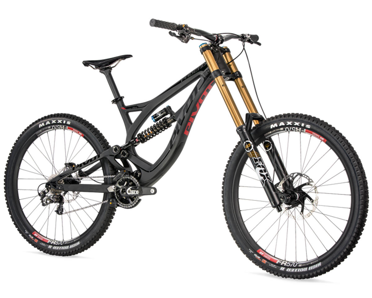 Pivot Phoenix 27.5 Carbon Full Suspension Mountain Bike (2015) (Black)