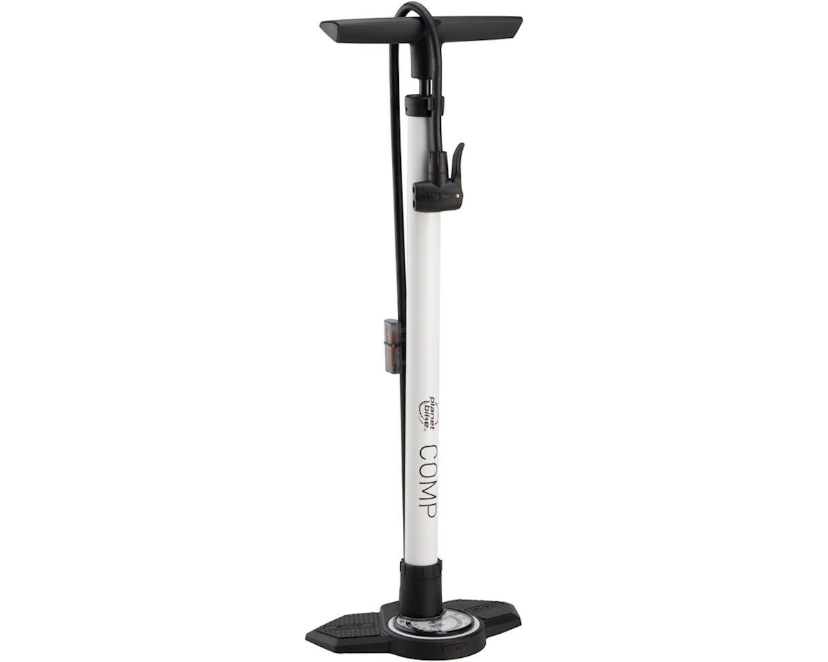 Planet Bike Planet Comp Floor Pump w/ Gauge (White)