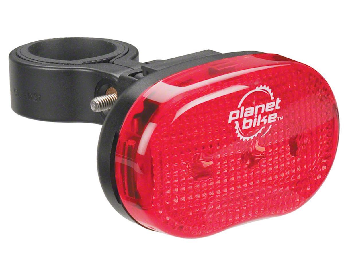 Planet Bike Blinky 3 Taillight: Red/Black