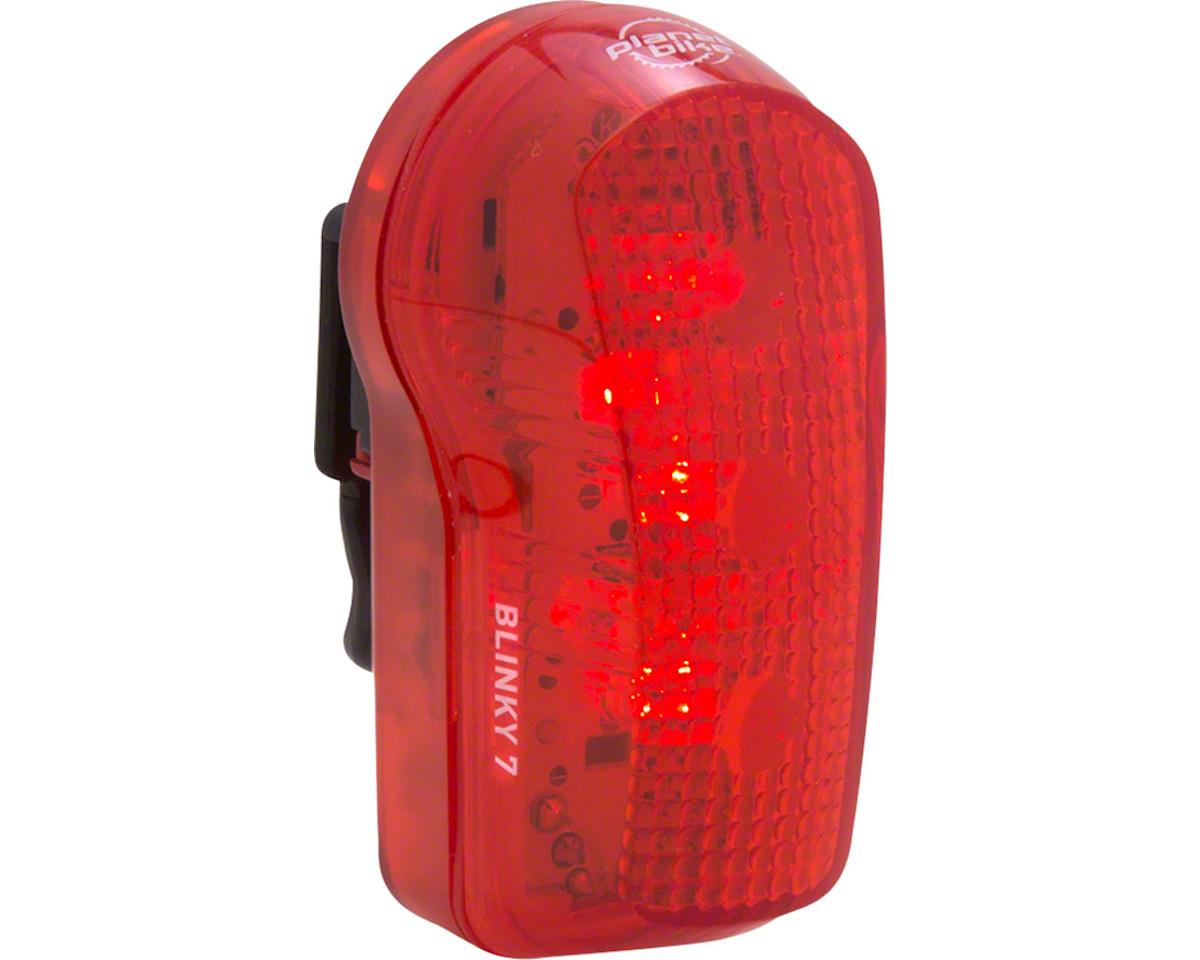 Planet Bike Blinky 7 LED Taillight (Red/Black)