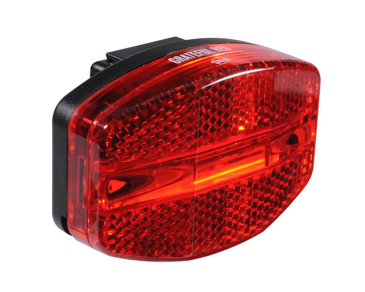 Image 1 for Planet Bike Grateful Red Tail Light - Compatible With Rear Racks!