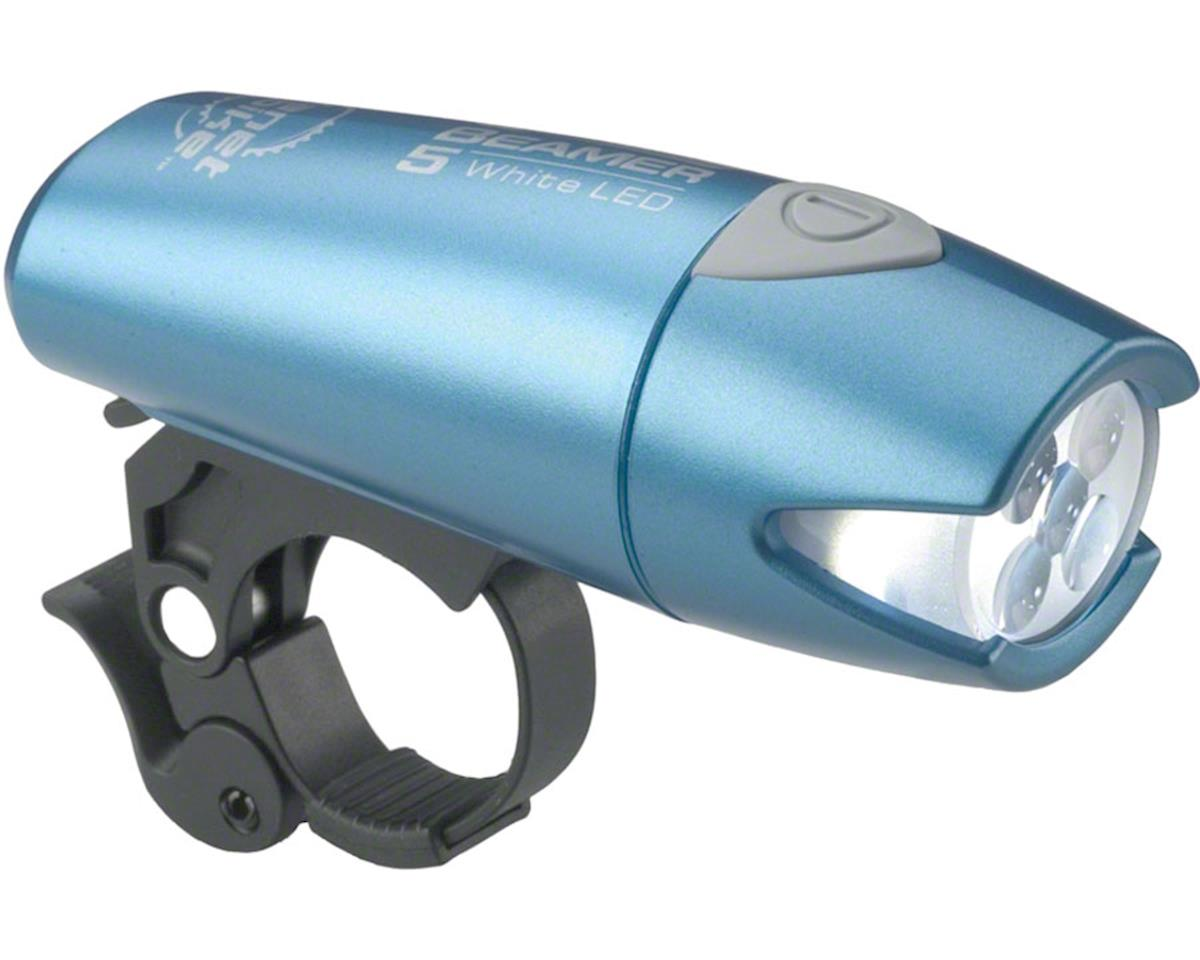 Planet Bike Beamer 5 Headlight: Blue