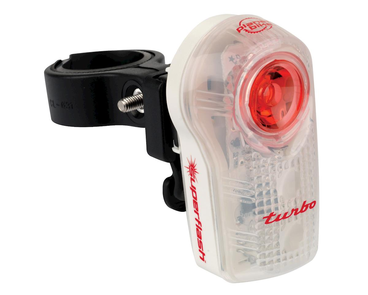 Planet Bike LED Superflash Turbo Taillight (Red/Clear/White)