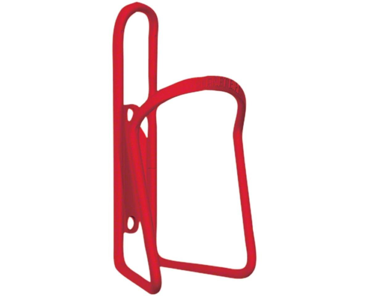 Planet Bike Alloy Bottle Cage (Red Anodized)