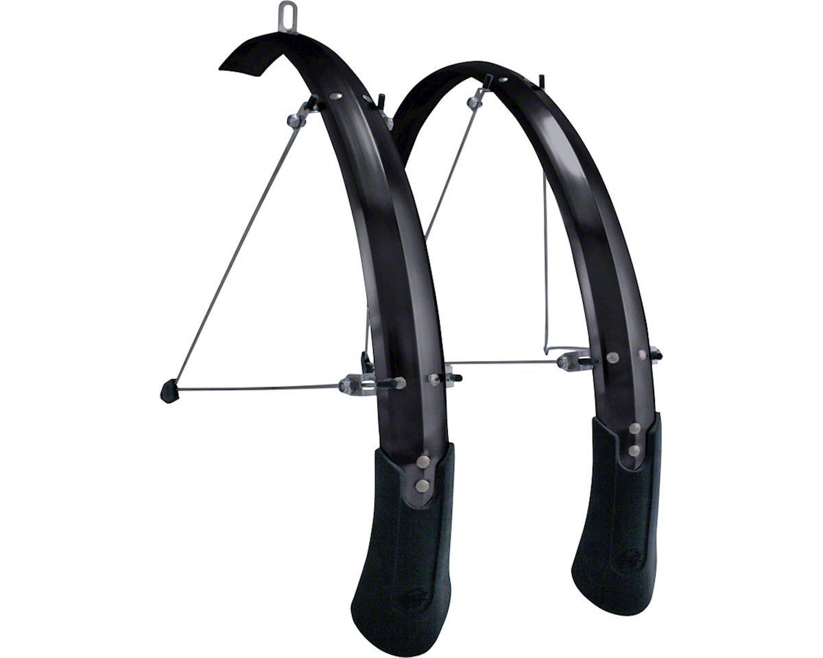"Planet Bike Cascadia ALX 27.5"" x 60 Fender Set (Black) (27.5 x 1.4-1.9)"