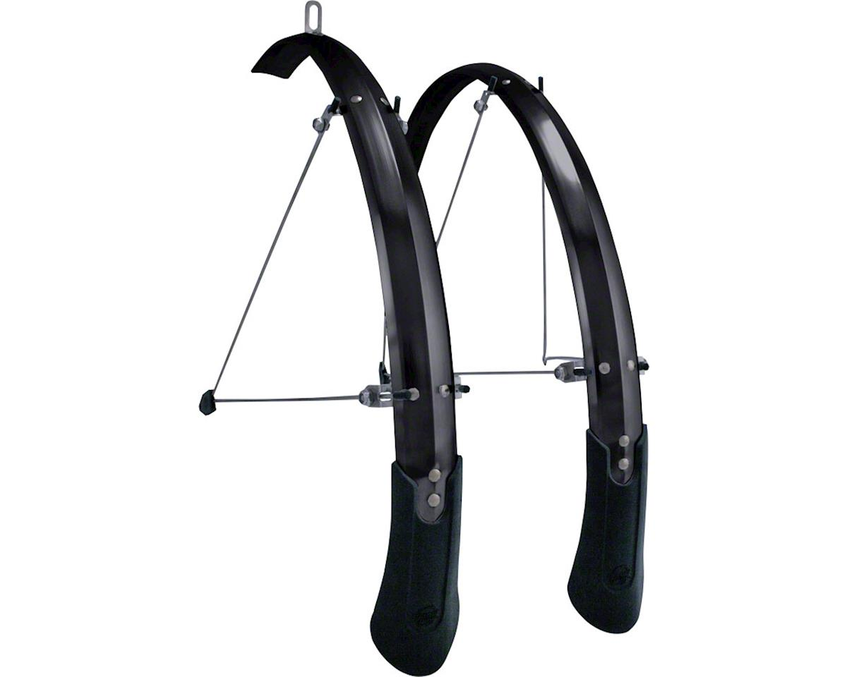 "Planet Bike Cascadia ALX 29"" x 65 Fender Set (Black) (29 x 1.5-2.0)"