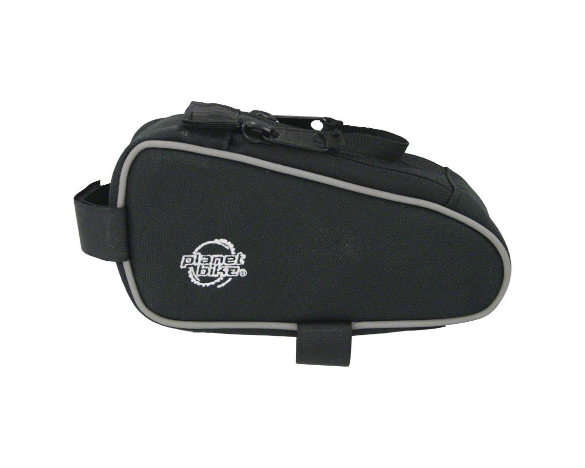 Planet Bike Snack Sack Top Tube/ Stem Bag: Black