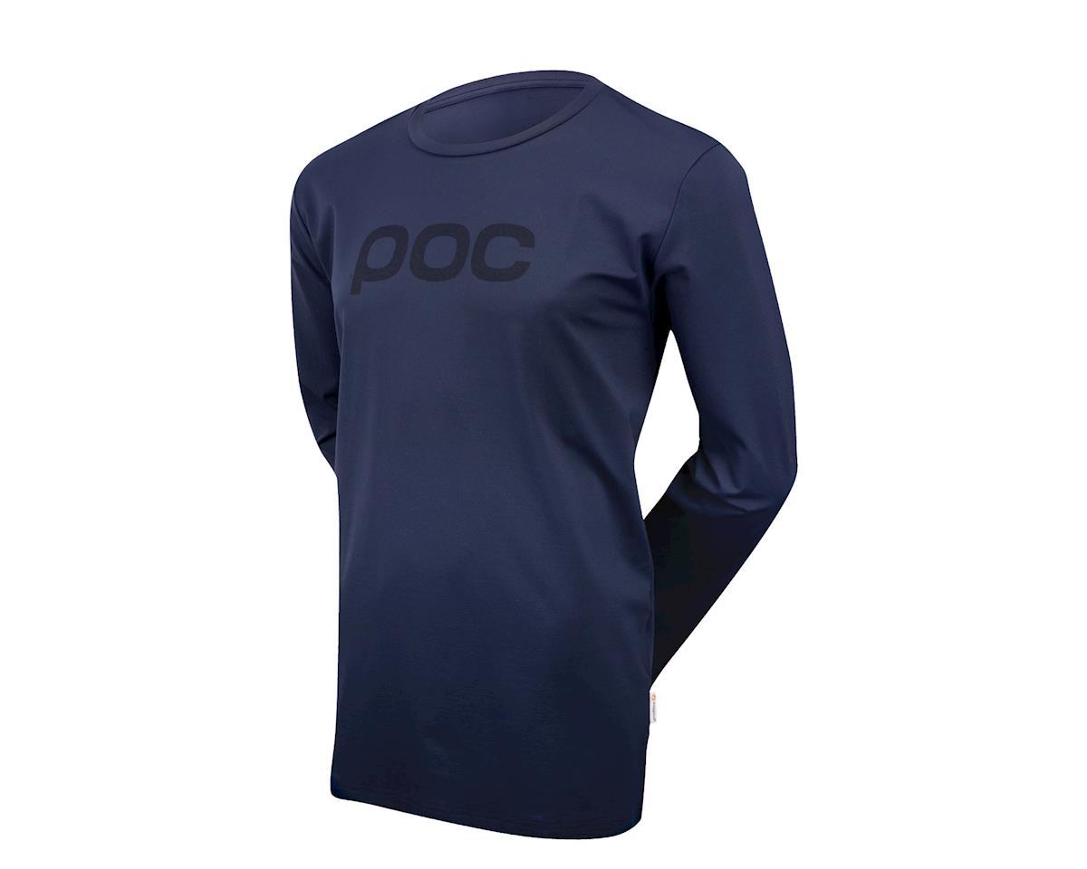 Poc Trail Long Sleeve Jersey (Navy)