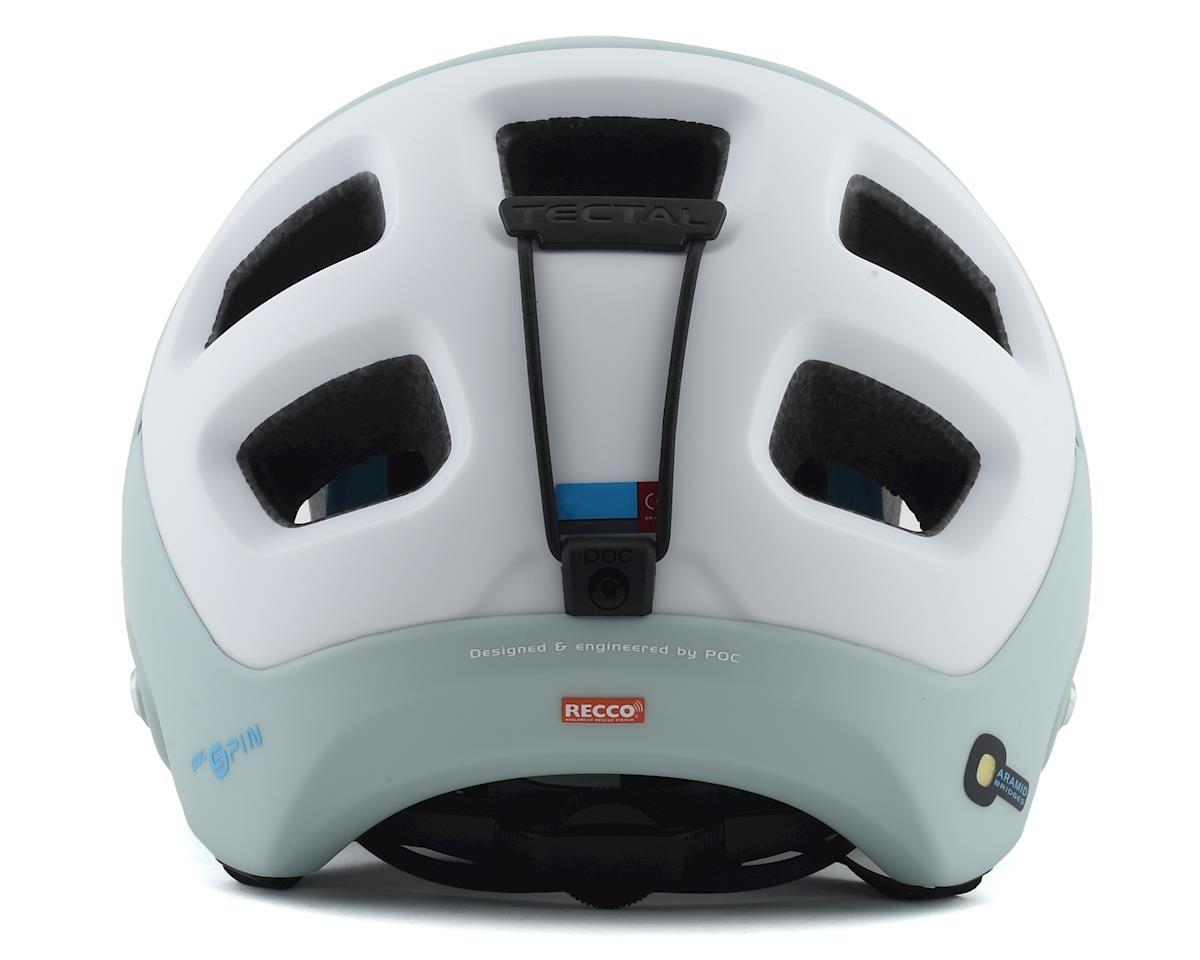 Image 2 for Poc Tectal Race SPIN Helmet (Apophyllite Green/Hydrogen White Matte) (M/L)