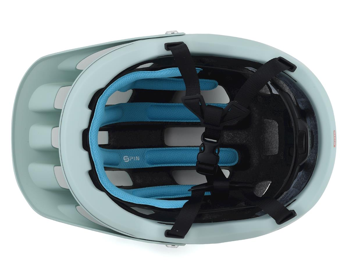 Image 3 for Poc Tectal Race SPIN Helmet (Apophyllite Green/Hydrogen White Matte) (M/L)