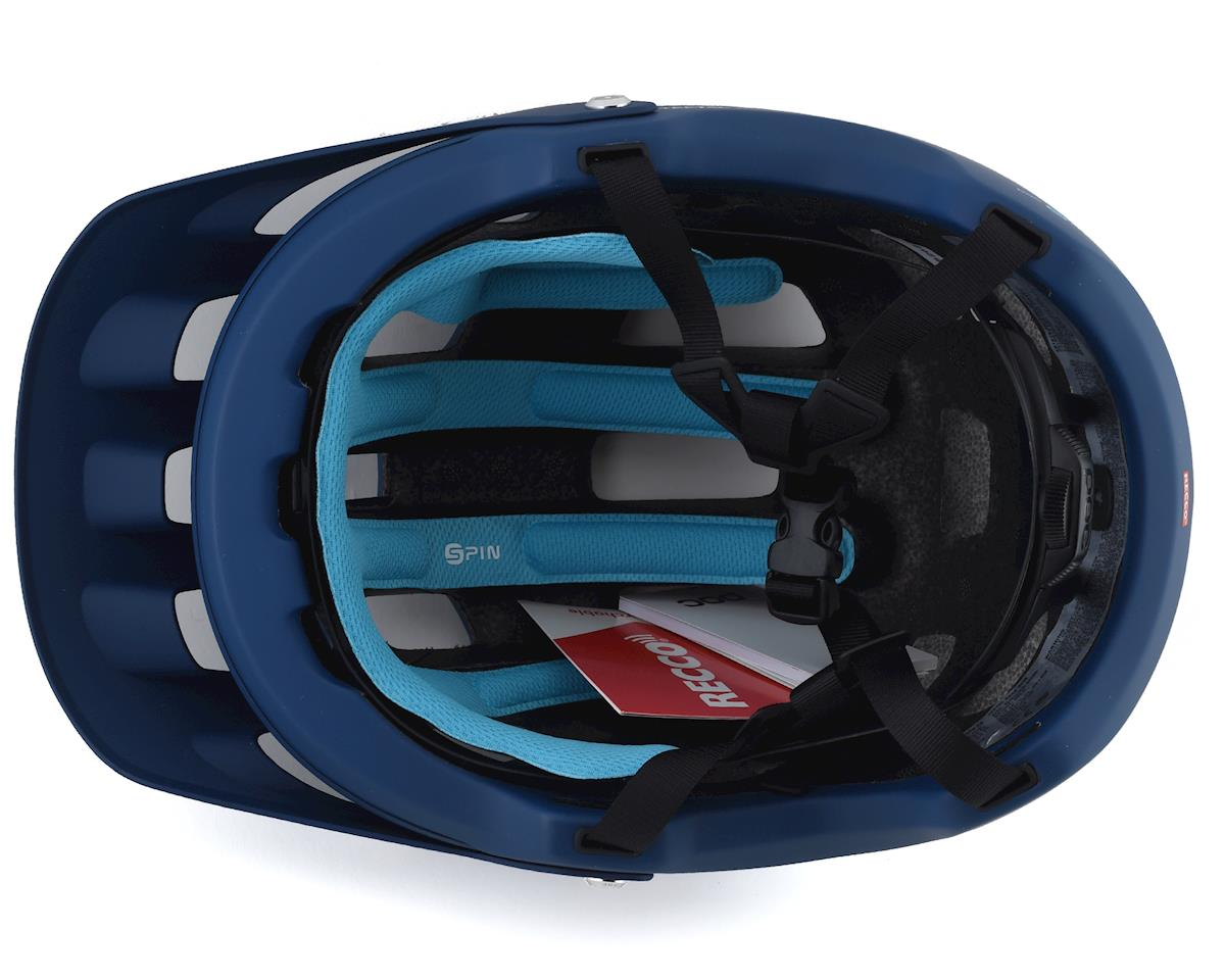 Poc Tectal Race SPIN Helmet (Lead Blue/Hydrogen White Matt) (M/L)