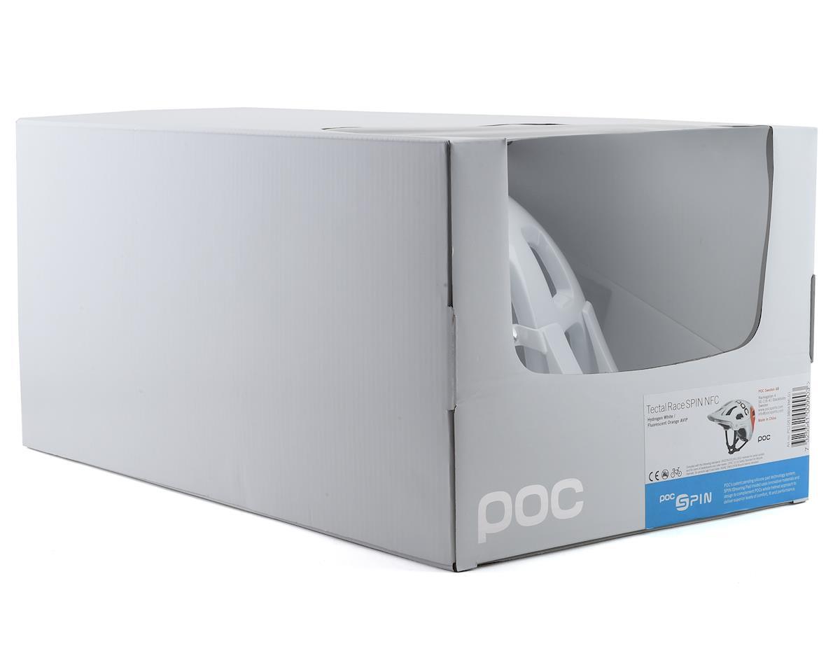 Image 4 for Poc Tectal Race SPIN NFC Helmet (Hydrogen White/Fluorescent Orange AVIP) (M/L)