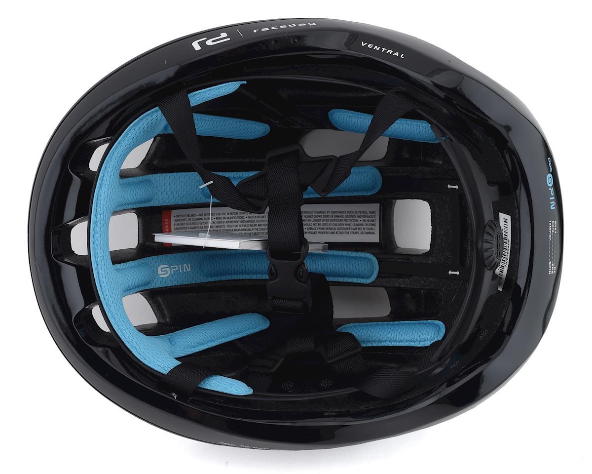 Poc Ventral SPIN Helmet (Uranium Black Raceday) (L)
