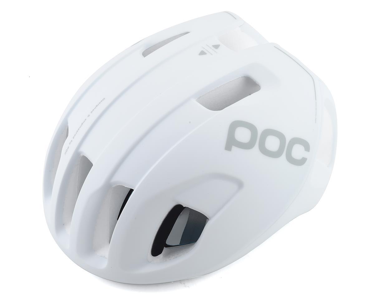POC Ventral SPIN Helmet: Hydrogen White Matte LG