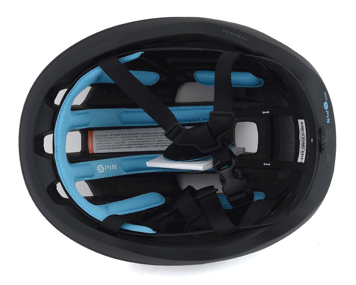 Poc Ventral SPIN Helmet (Uranium Black Matte) (L)