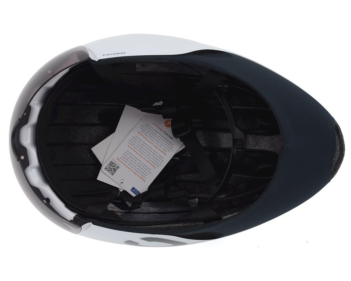Poc Cerebel Raceday Helmet (Hydrogen White) (M)