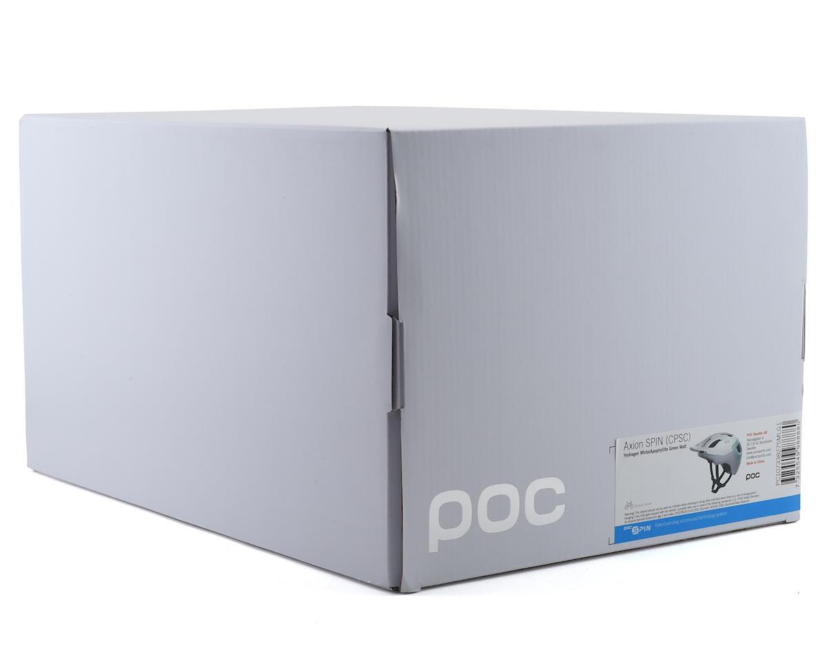 Poc Axion SPIN Helmet (Hydrogen White/Apophyllite Green Matte) (M/L)