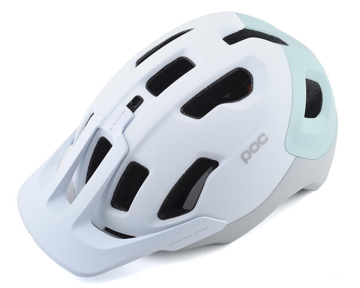 Poc Axion SPIN Helmet (Hydrogen White/Apophyllite Green Matte) (XL/XXL)
