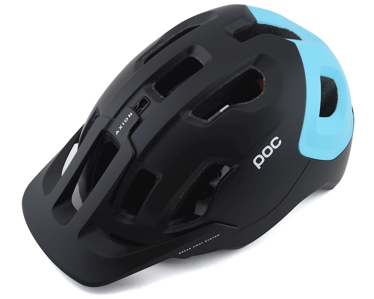 Poc Axion SPIN Helmet (Uranium Black/Kalkopyrit Blue Matte) (M/L)