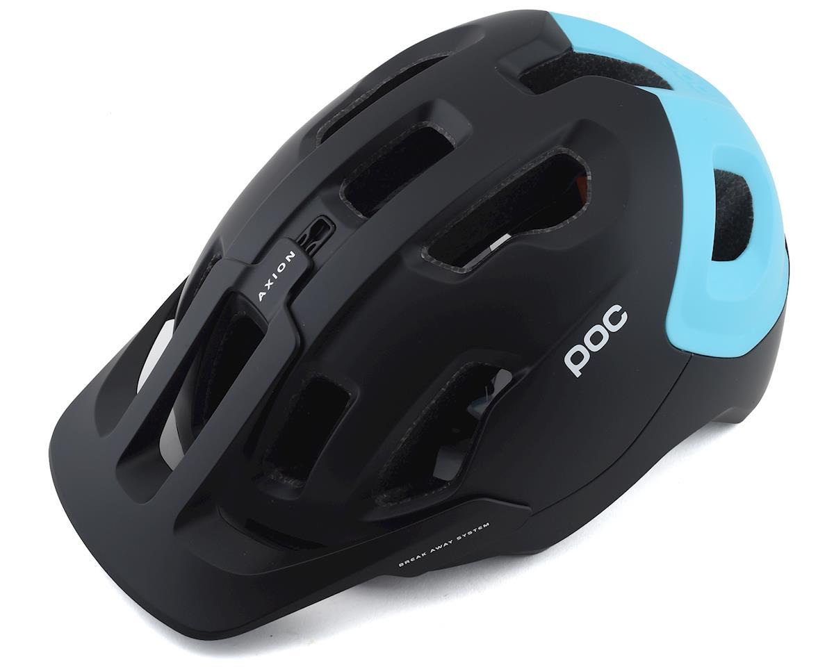 Poc Axion SPIN Helmet (Uranium Black/Kalkopyrit Blue Matte) (XL/XXL)