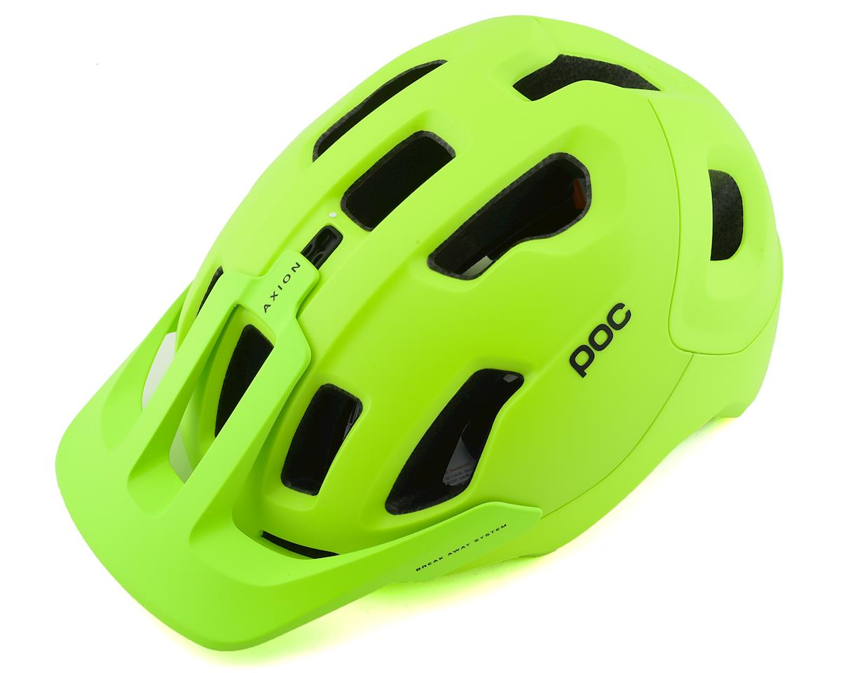 Poc Axion SPIN Helmet (Fluorescent Yellow/Green Matte) (M/L)