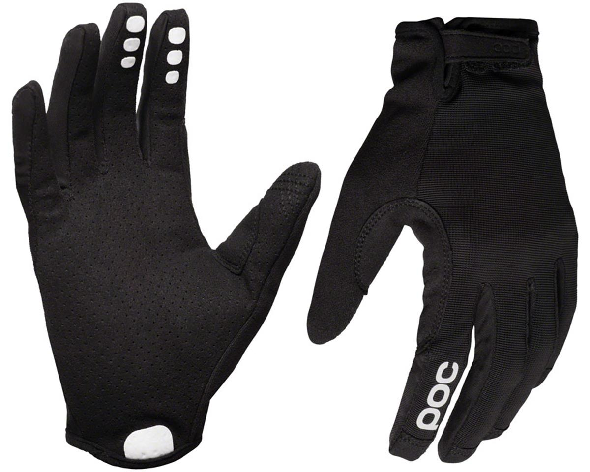 Poc Resistance Enduro Adj Full Finger Gloves (Uranium Black/Uranium Black)