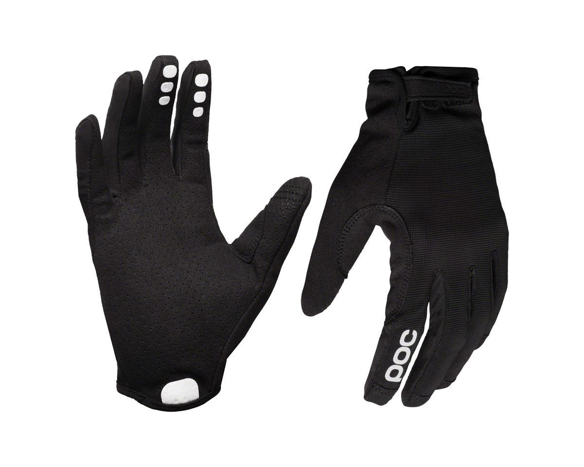POC Resistance Enduro Adj Full Finger Gloves: Uranium Black/Uranium Black XL