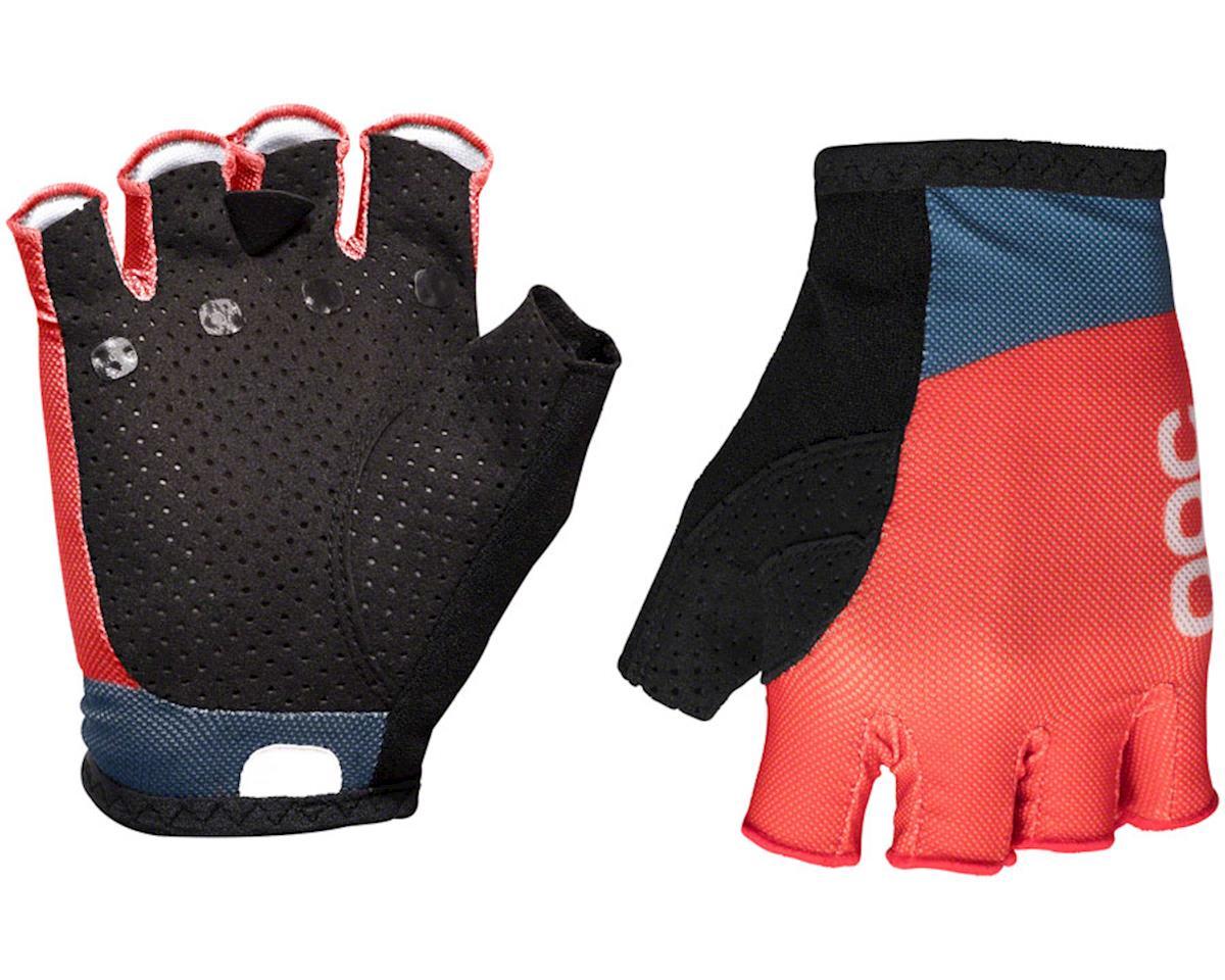 Essential Road Light Short Finger Gloves (Prismane Red)