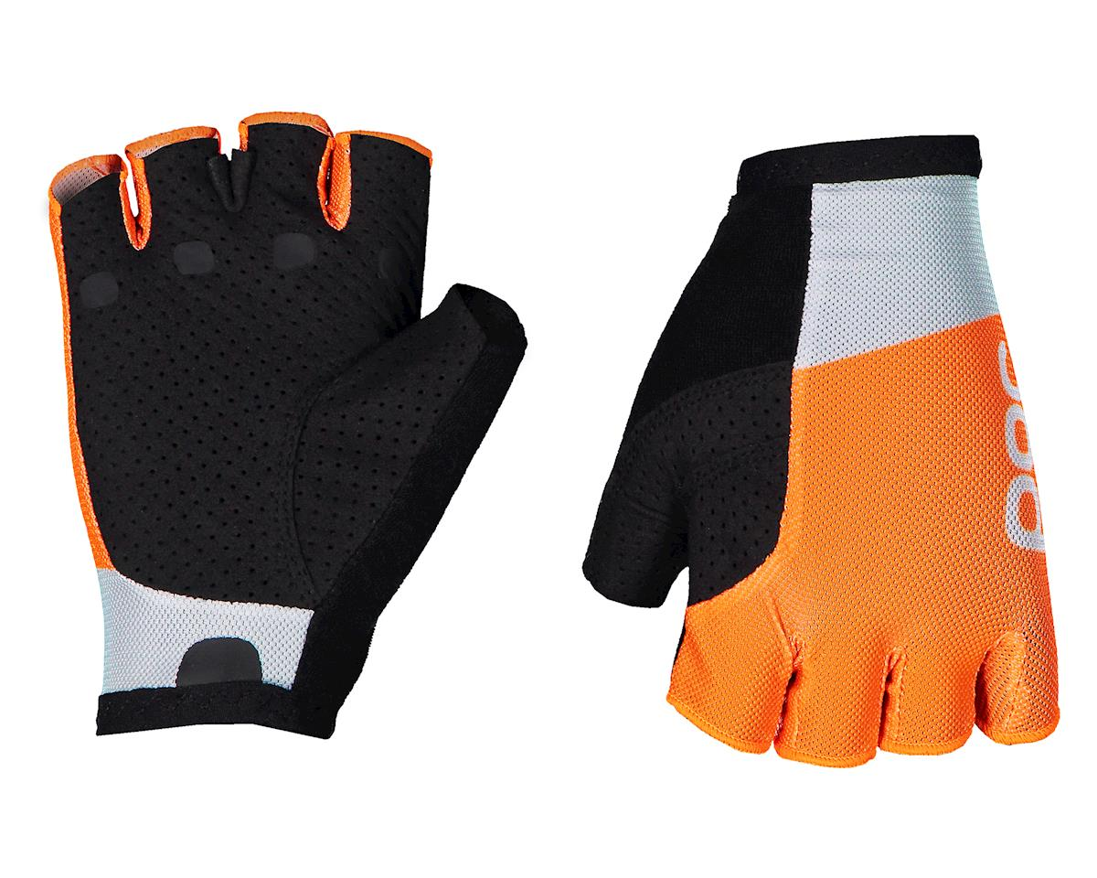 Poc Essential Road Mesh Glove  (Granite Grey/Zink Orange) (XL)