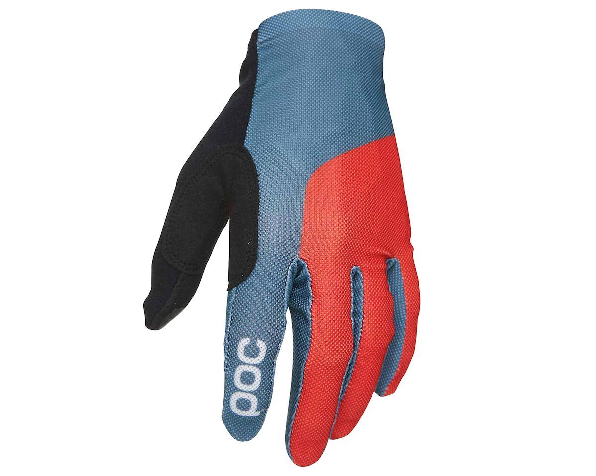Image 1 for Poc Essential Mesh Glove (Cubane Blue/Prismane Red) (S)