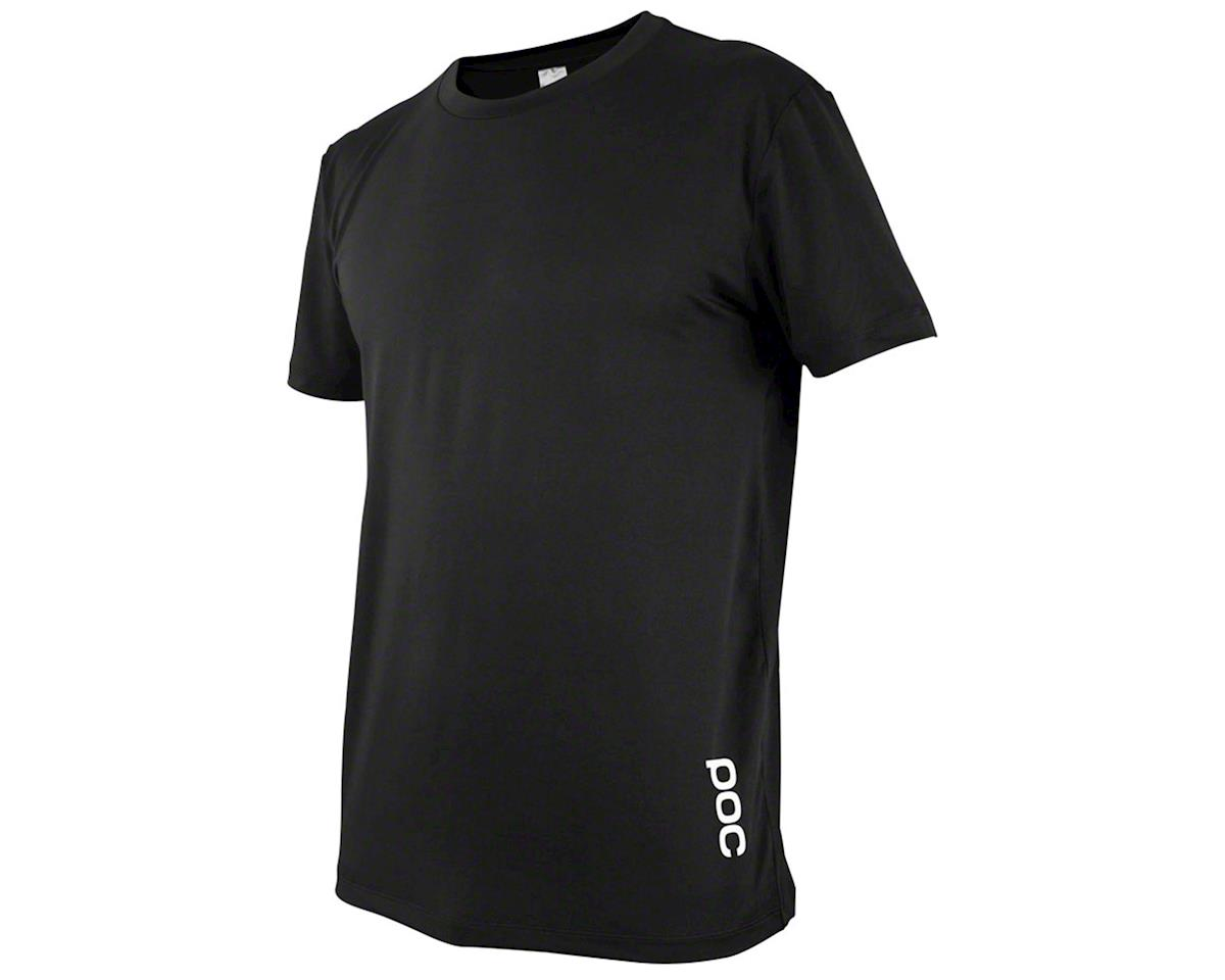 Poc Essential Enduro Light Tee (Carbon Black) (XS)