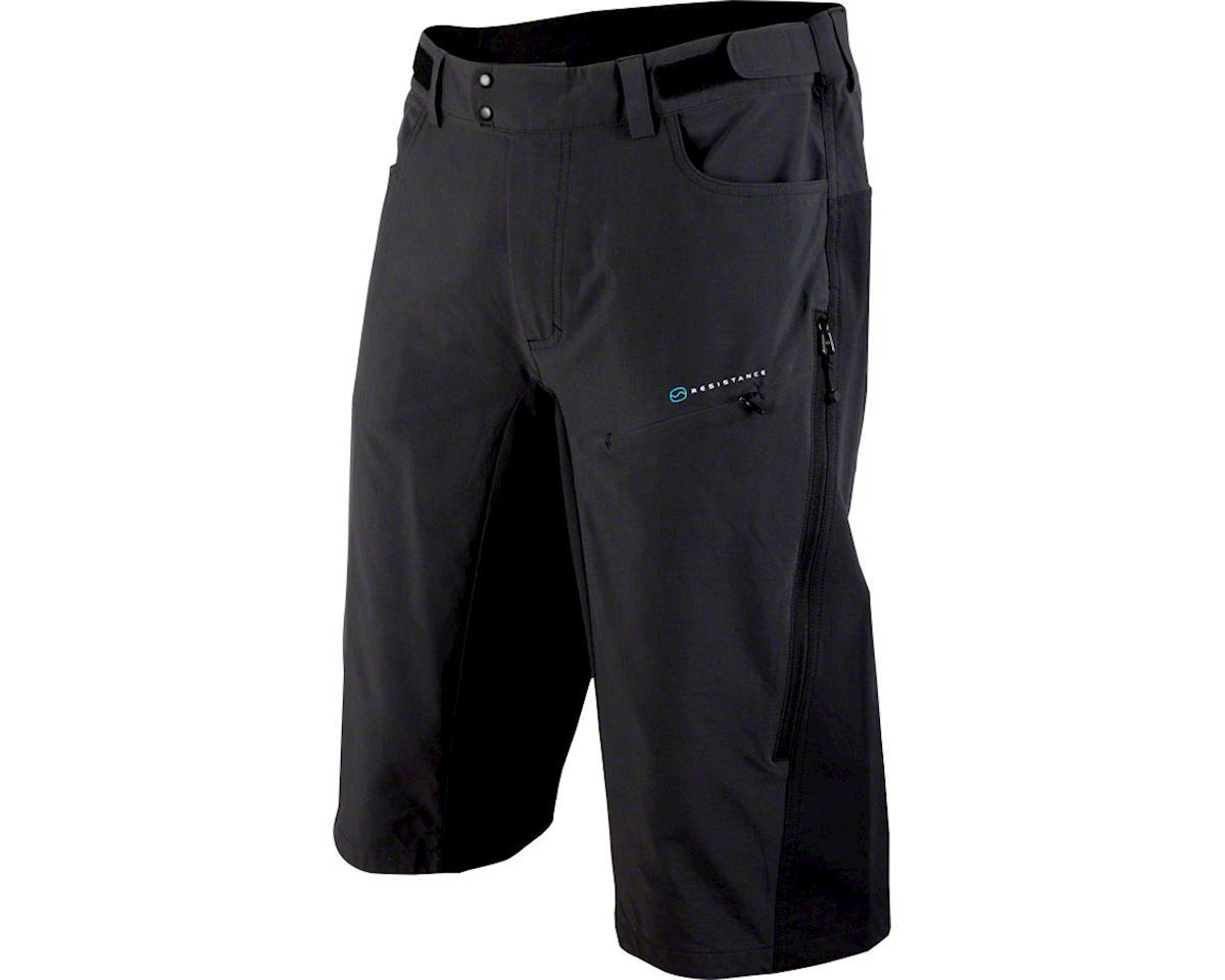 POC Resistance Enduro Mid Men's Shorts: Carbon Black XL