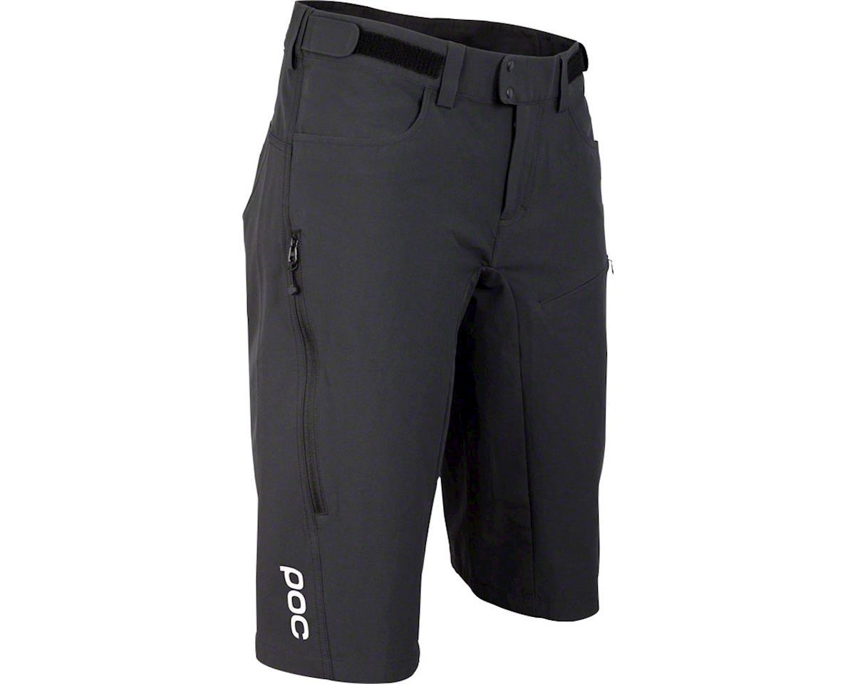 POC Resistance Enduro Mid Women's Shorts: Carbon Black LG