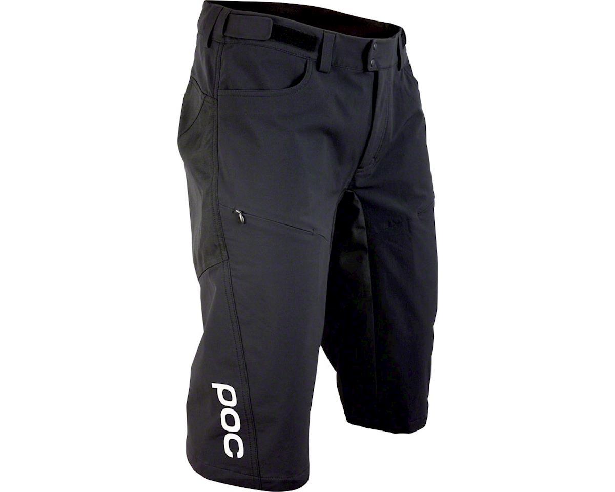 POC Resistance DH Men's Shorts: Carbon Black XL
