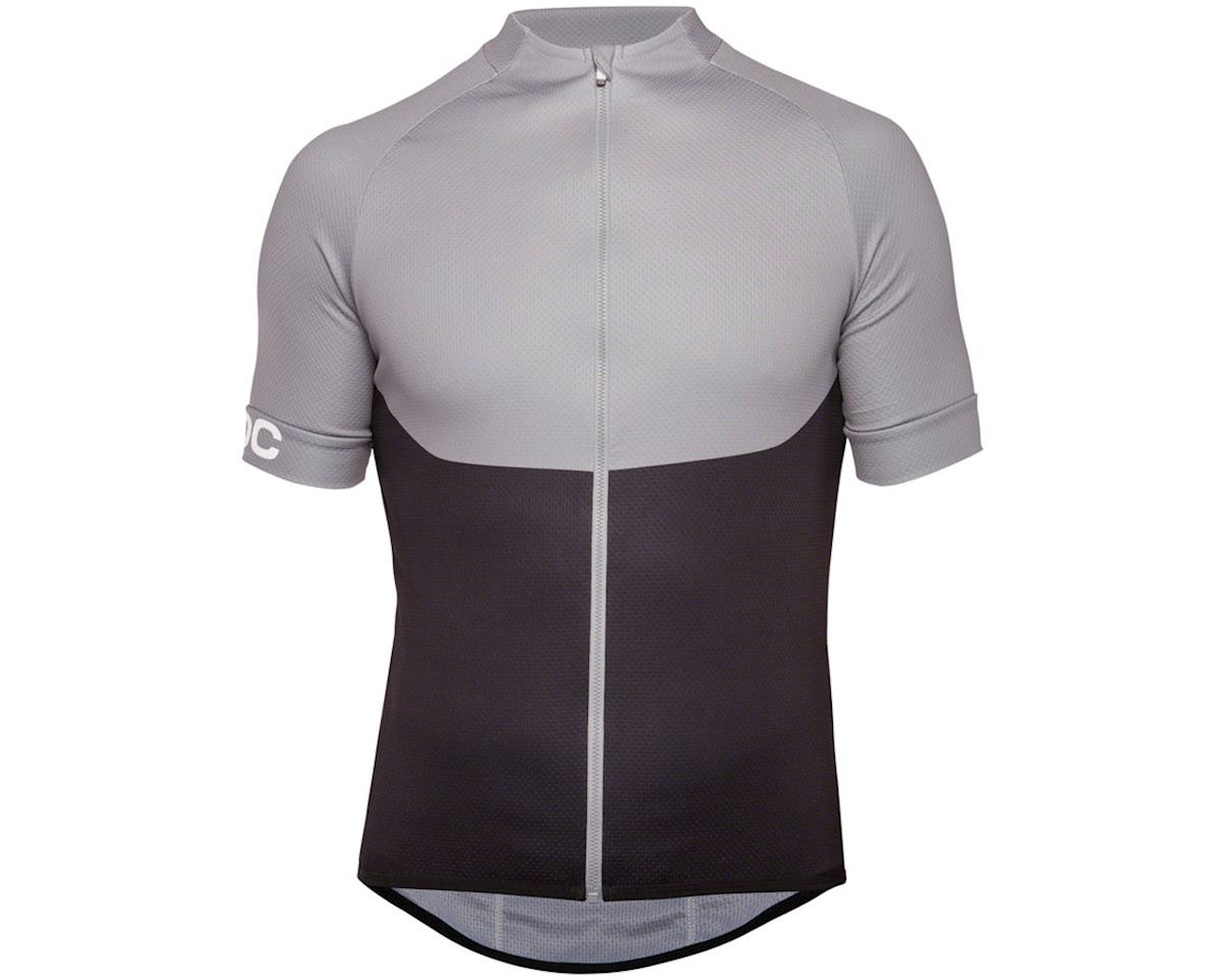 Poc Essential XC Zip Tee Men's Jersey (Steel Gray)