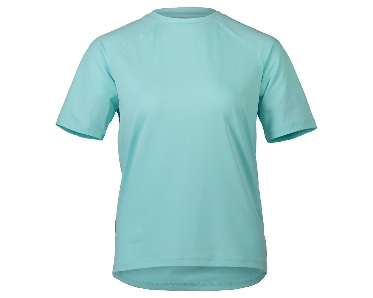 Poc Essential MTB Women's Tee (Light Kalkopyrit Blue) (L)