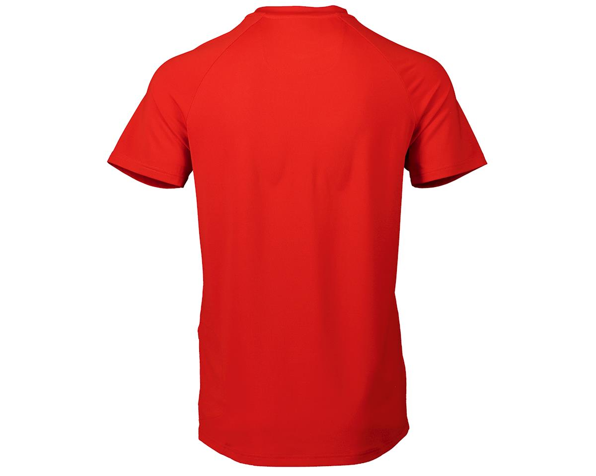 Image 2 for Poc Essential Enduro Light Tee (Prismane Red) (S)