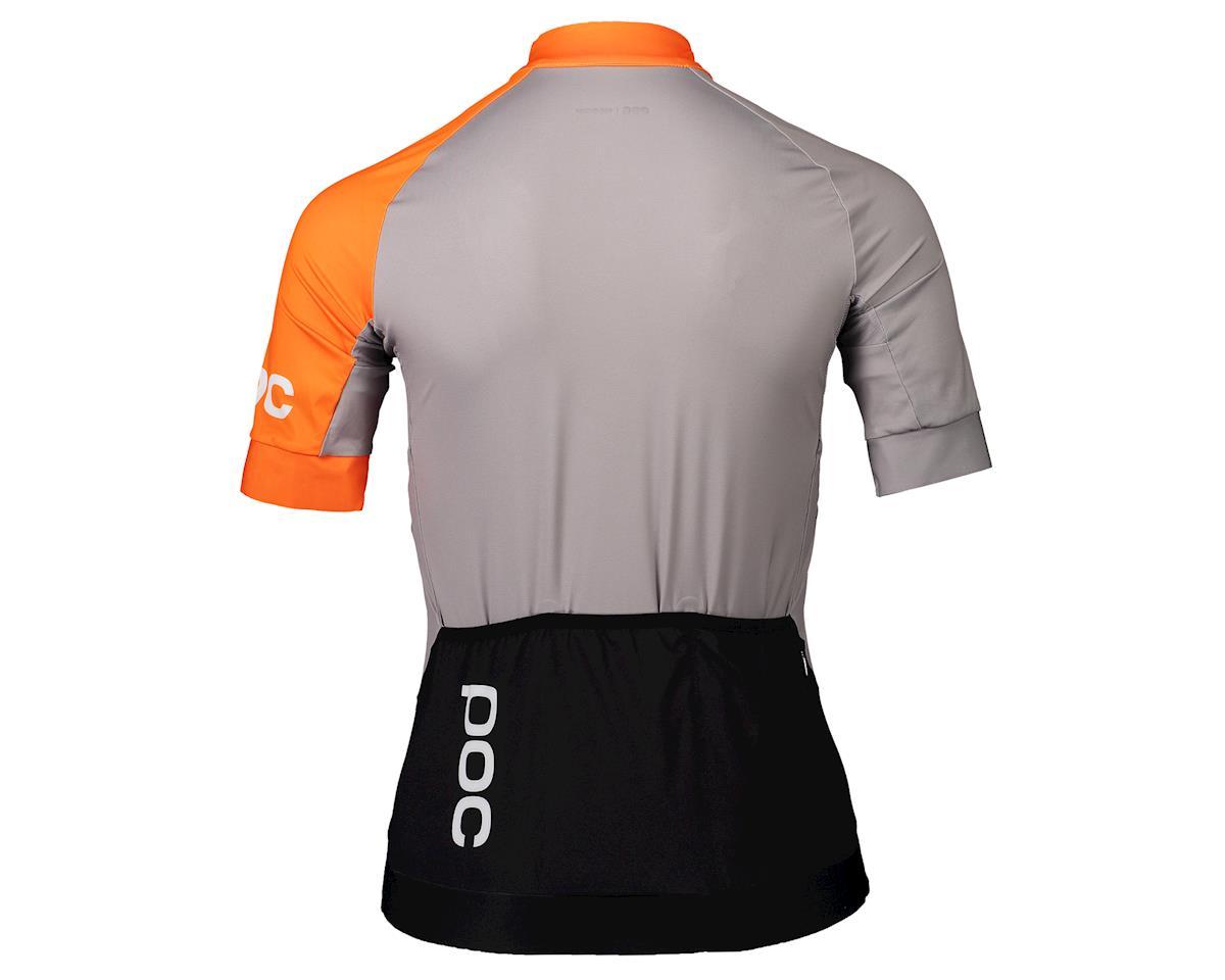 Image 2 for Poc Essential Road Women's Jersey (Granite Grey/Zink Orange) (XS)