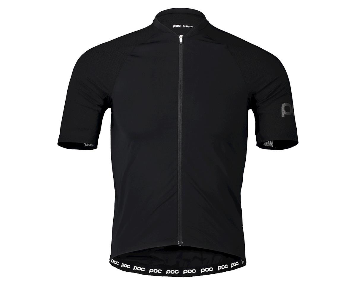 Poc Aero-Lite Road Jersey (Uranium Black) (XL)