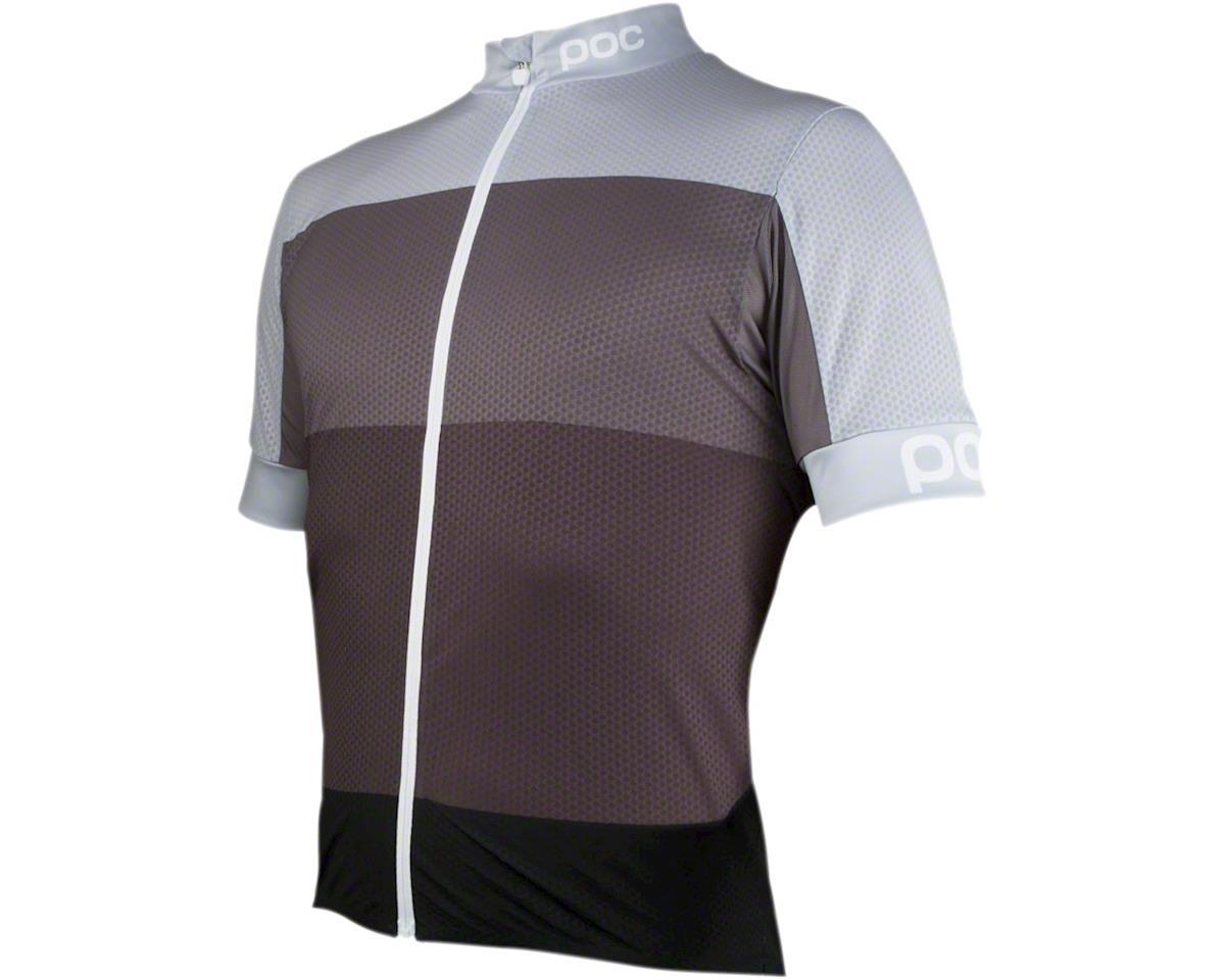 POC Fondo Light Men's Short Sleeve Jersey: Phopsphite Multi Gray LG