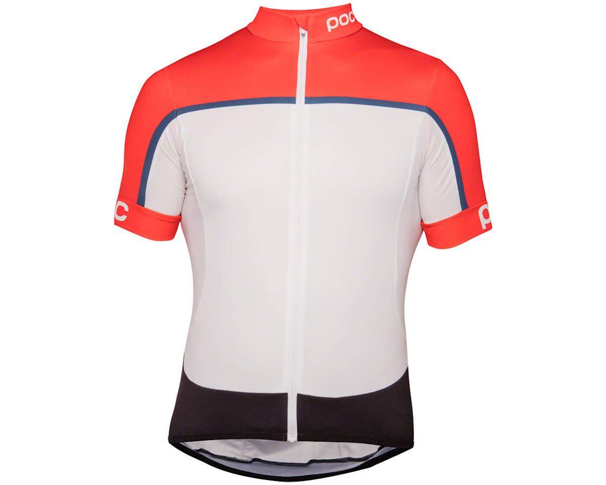 Poc Essential Road Men's Short Sleeve Jersey (Prismane Multi Red) (M)