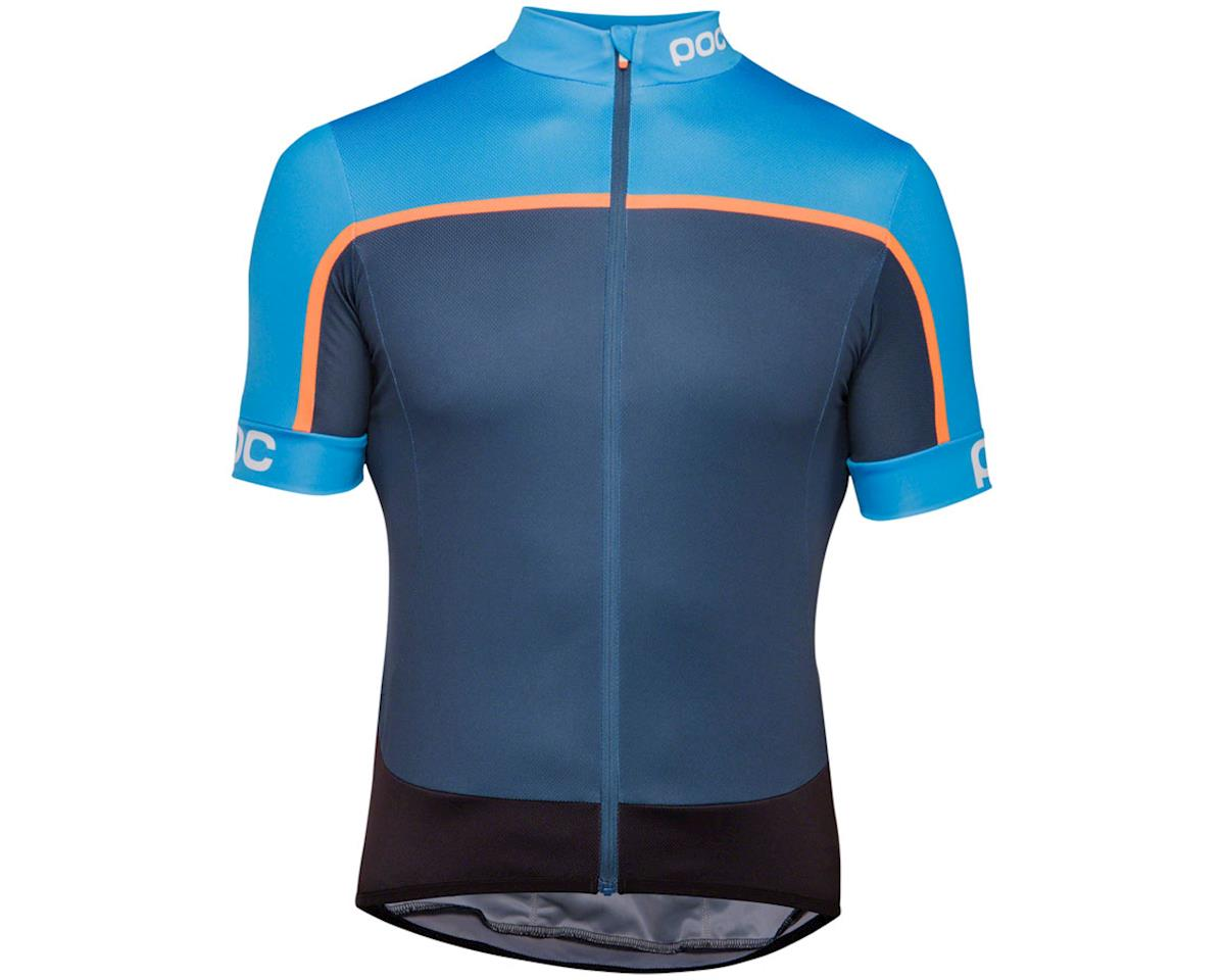 Poc Essential Road Men's Short Sleeve Jersey (Furfural Multi Blue)