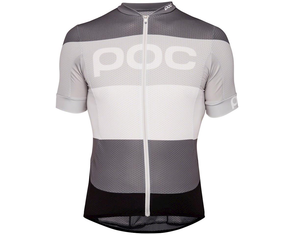 Poc Essential Road Men's Short Sleeve Jersey (Steel Multi Gray) (L)