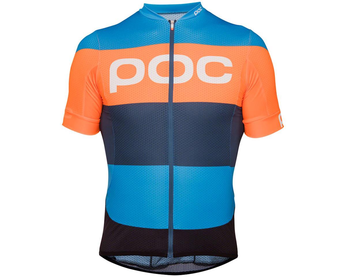 Poc Essential Road Men's Short Sleeve Jersey (Furfural Multi Blue)