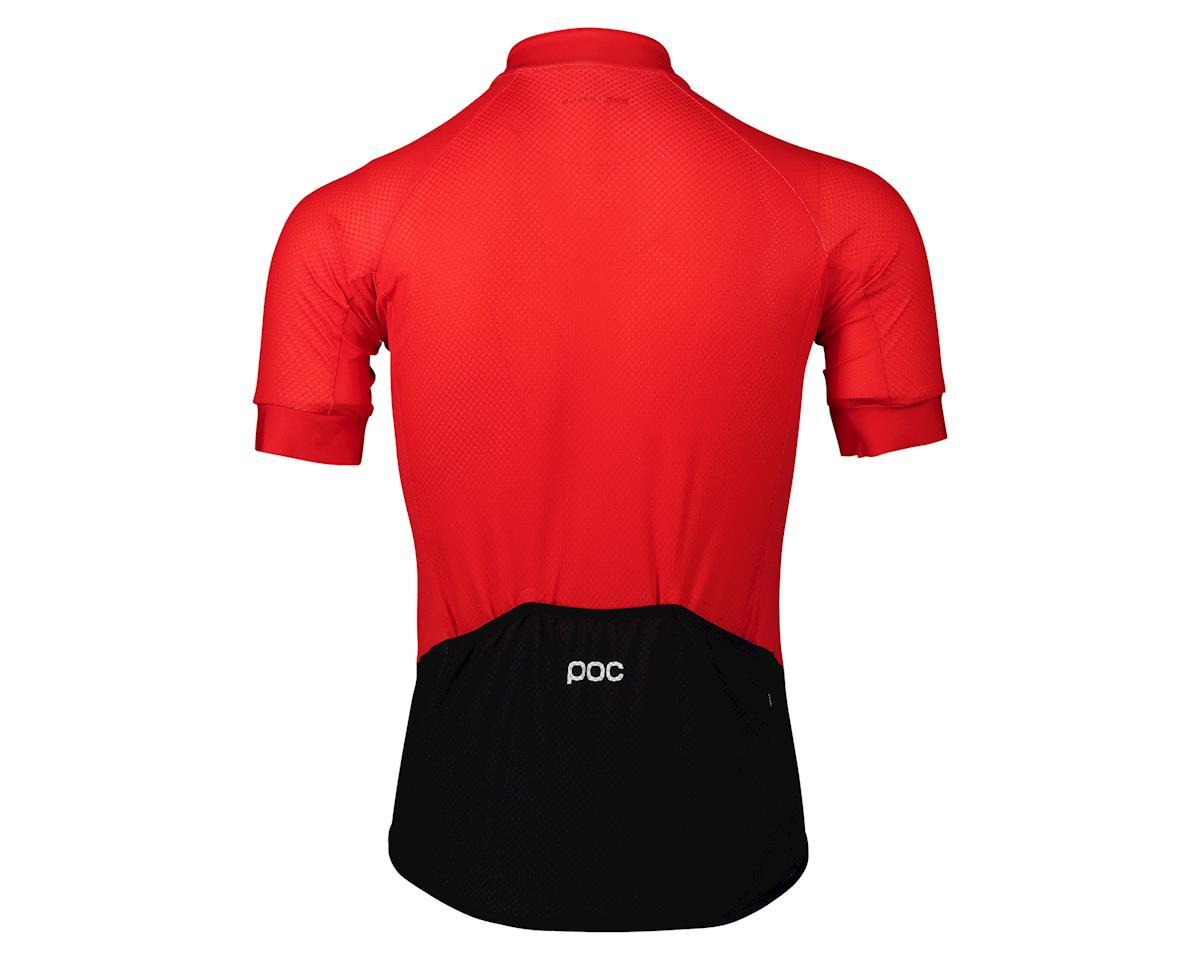Poc Essential Road Logo Jersey (Prismane Red) (XL)