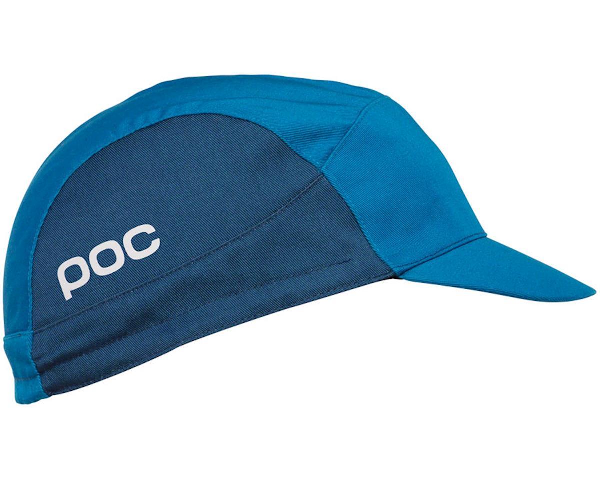POC Essential Road Cycling Cap: Furfural Multi Blue One Size