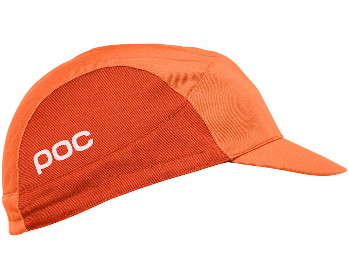 POC Essential Road Cycling Cap: Zink Multi Orange One Size