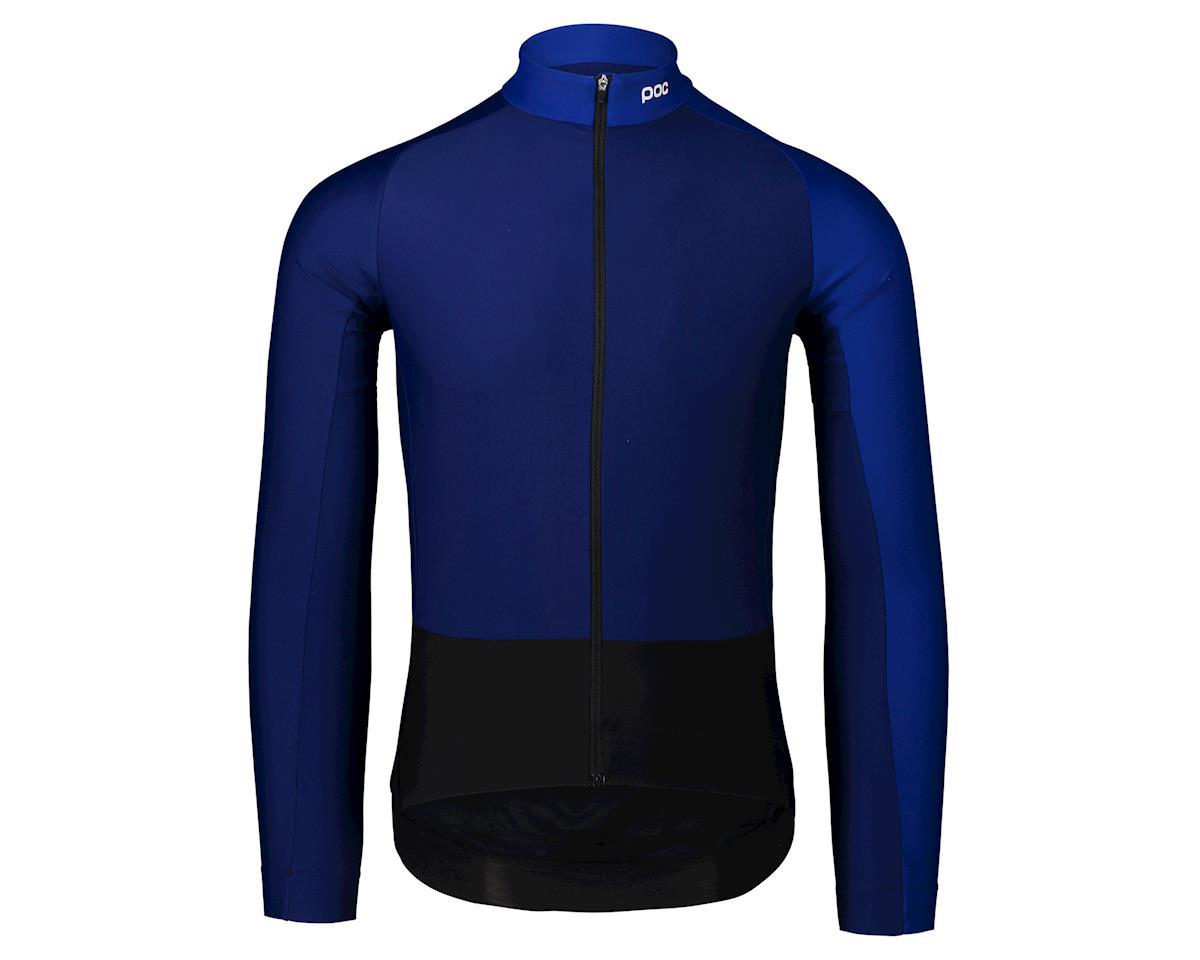 Poc Essential Road Mid Long Sleeve Jersey (Azurite Multi Blue) (M)