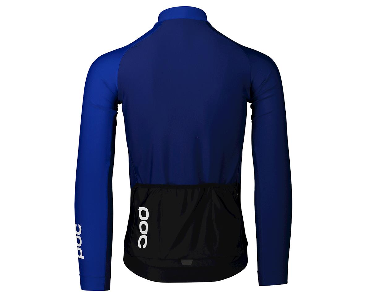 Poc Essential Road Mid Long Sleeve Jersey (Azurite Multi Blue) (S)