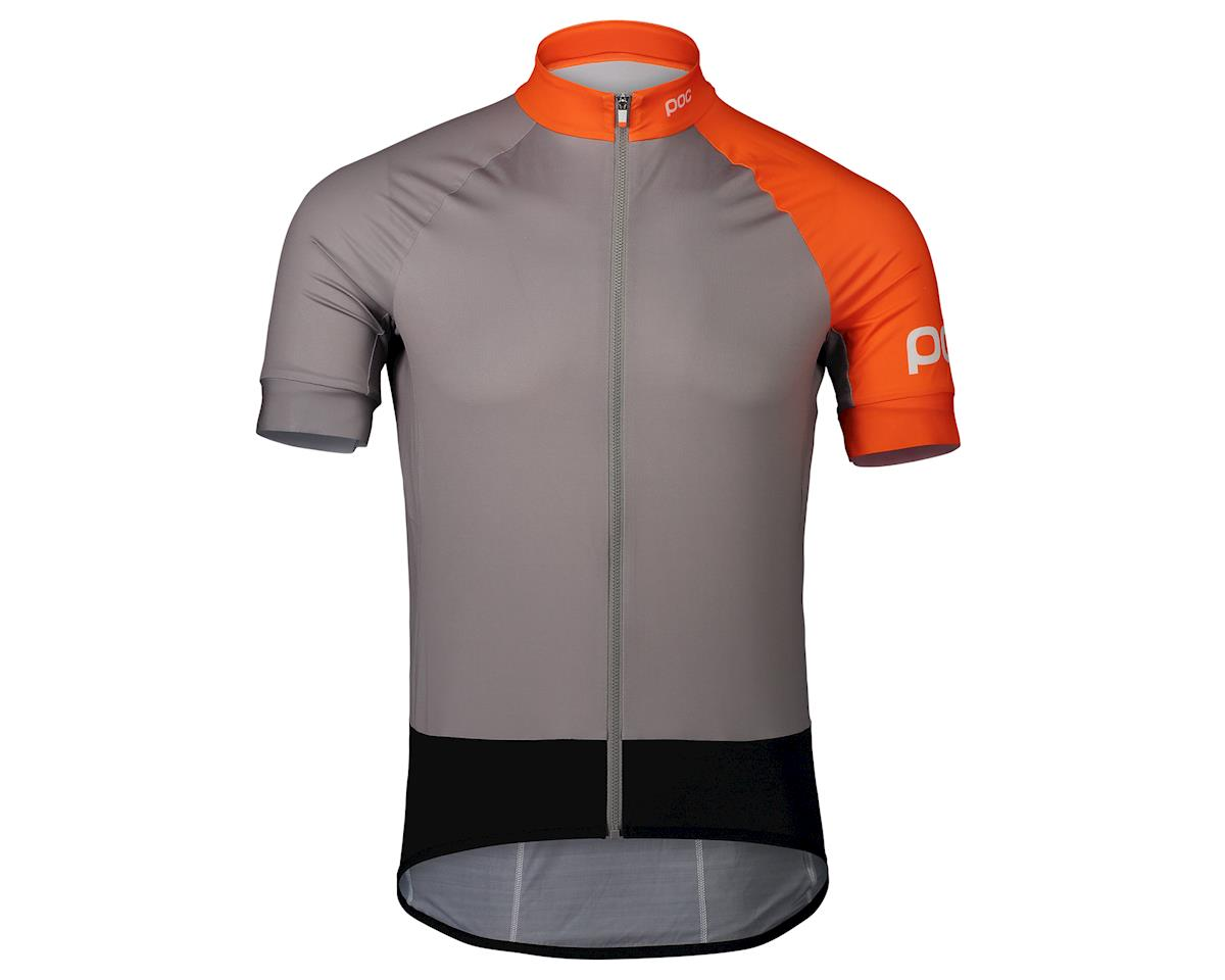 Poc Essential Road Jersey (Granite Grey/Zink Orange) (L)